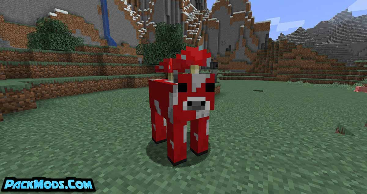 mooblooms mod 2 - Mooblooms Mod 1.17.1/1.16.5 (Colored Cows)