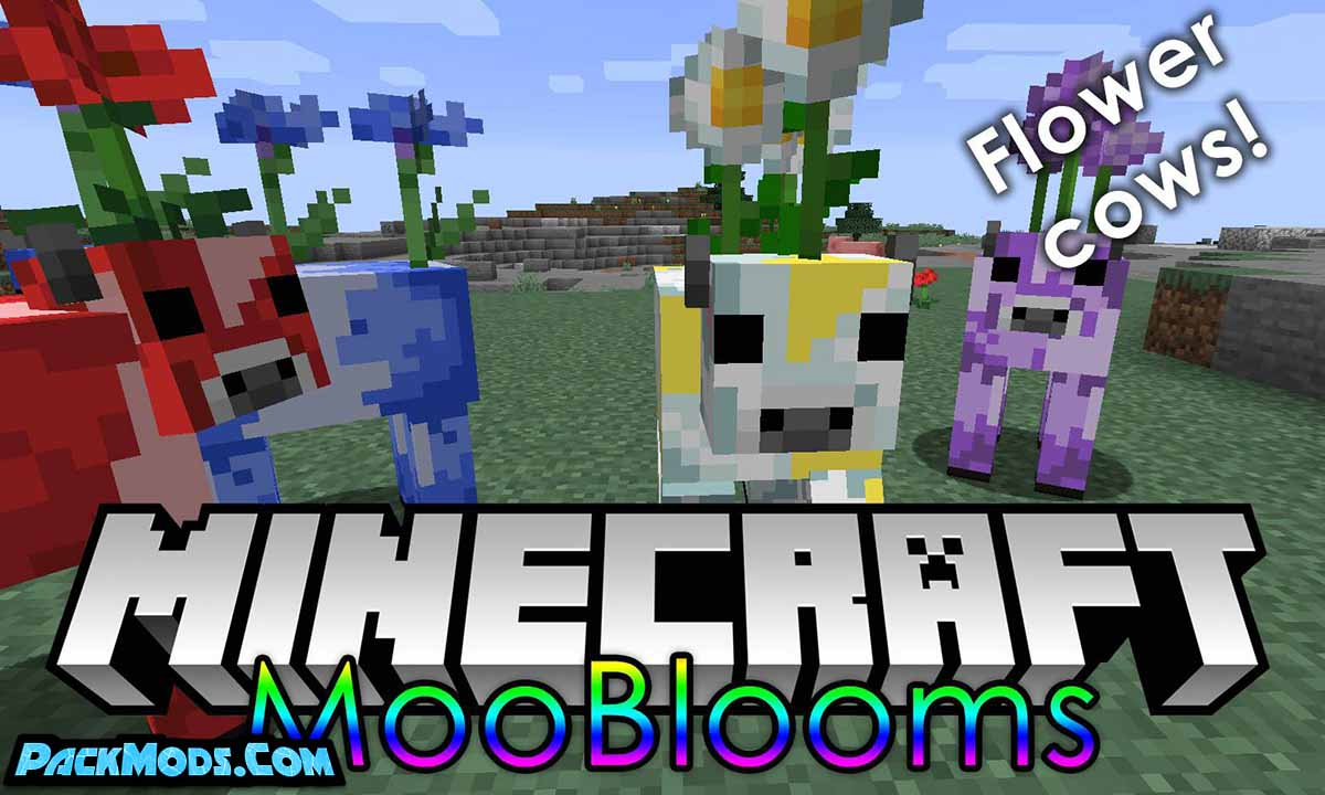 mooblooms mod - Mooblooms Mod 1.17.1/1.16.5 (Colored Cows)