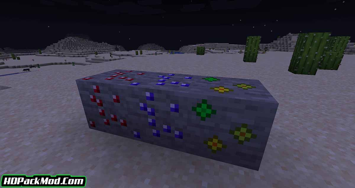 more ores in one mod 3 - More Ores In ONE Mod 1.17.1/1.16.5 (Ore in Different Worlds)