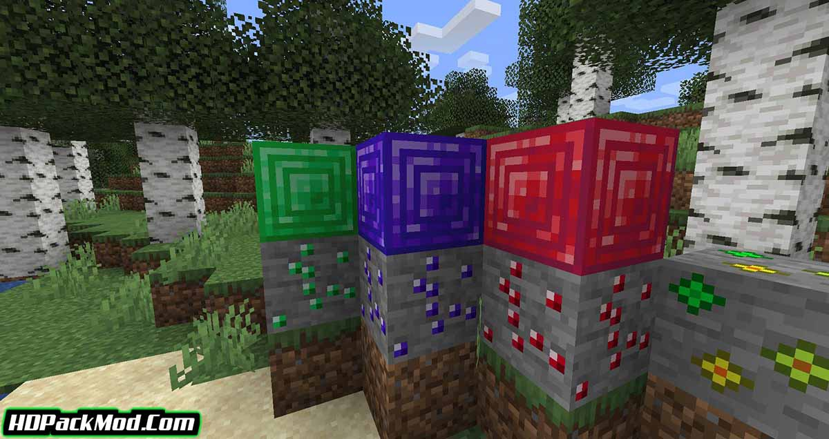 more ores in one mod 4 - More Ores In ONE Mod 1.17.1/1.16.5 (Ore in Different Worlds)