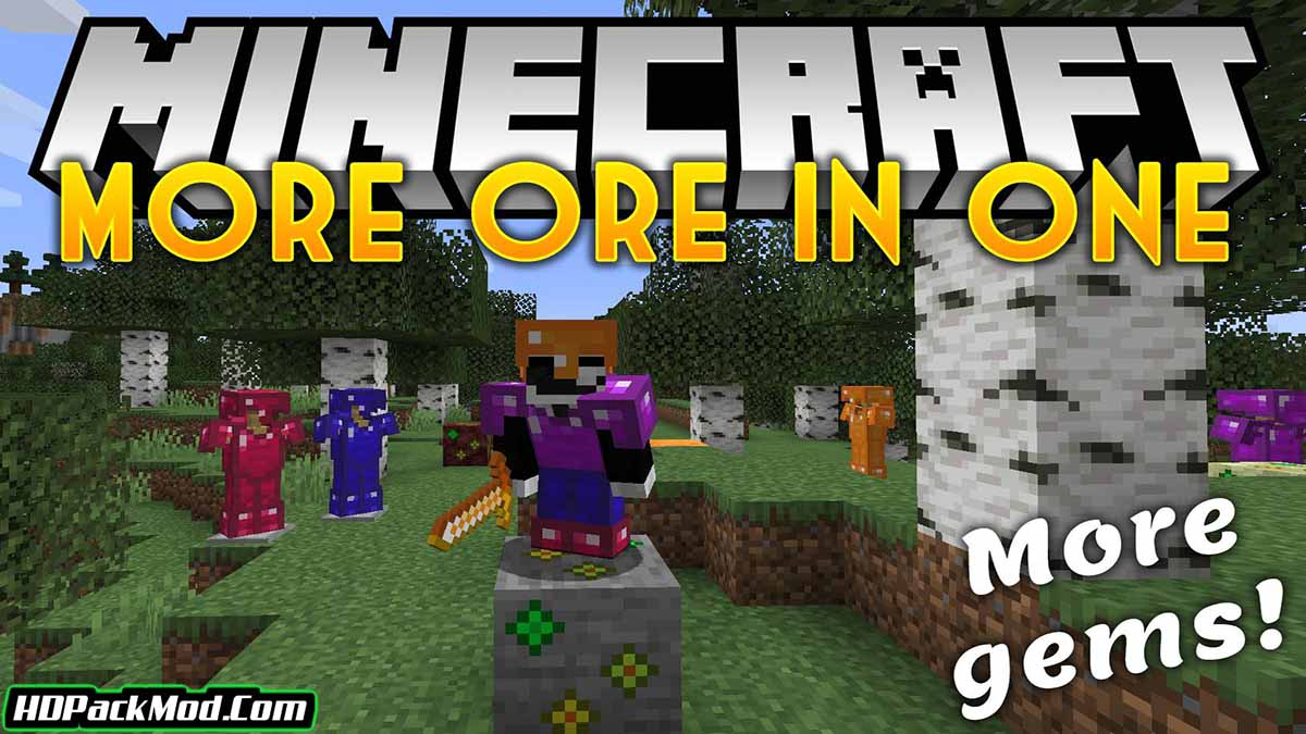 more ores in one mod - More Ores In ONE Mod 1.17.1/1.16.5 (Ore in Different Worlds)