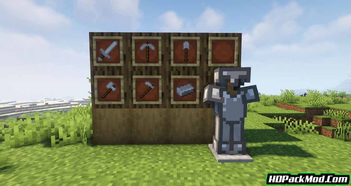 shiny gems and ores mod 3 - Shiny Gems and Ores Mod 1.16.5/1.15.2 (New Weapons, Armor)