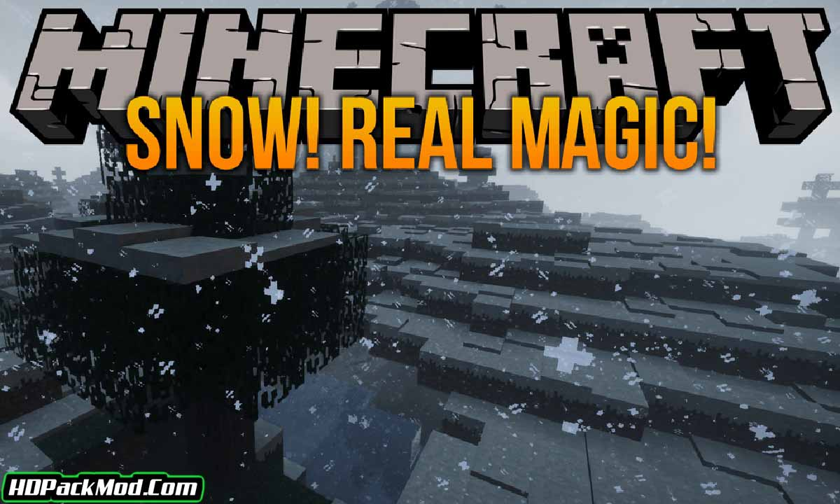 snow real magic mod - Snow! Real Magic! Mod 1.16.5/1.15.2 (New Opportunities for Snow)