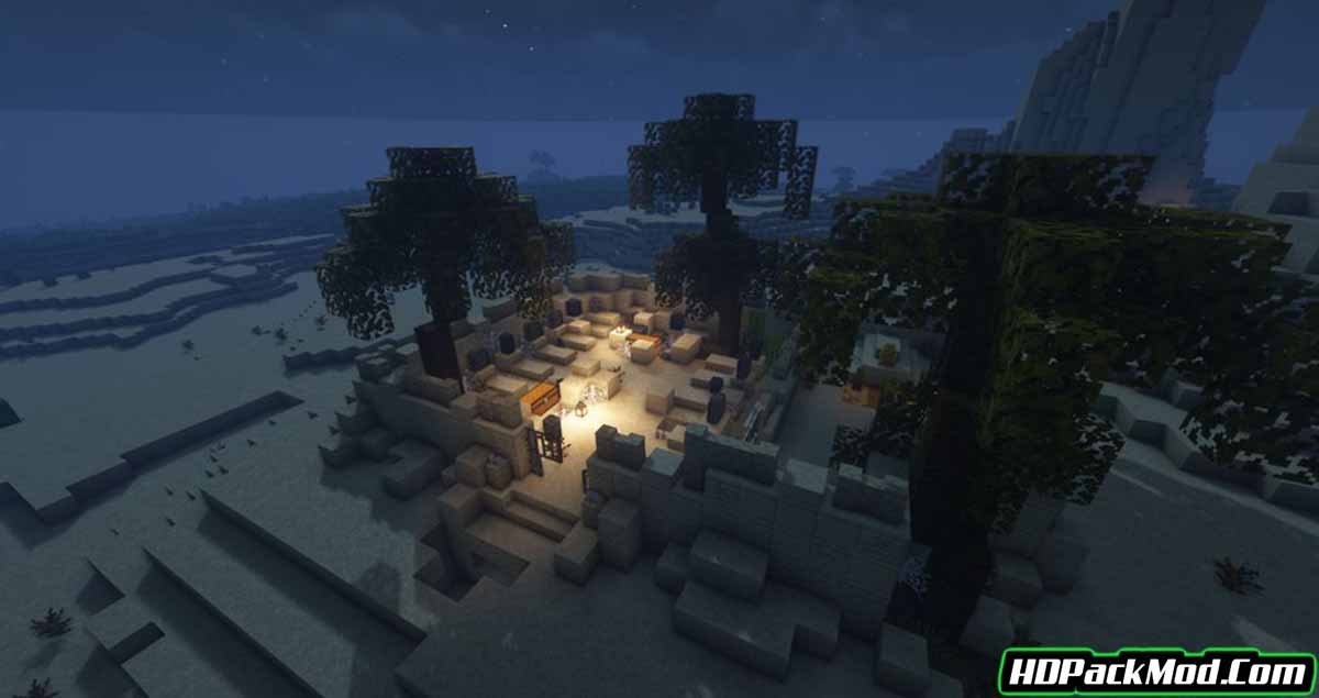 the graveyard mod 3 - The Graveyard Mod 1.17.1 (Structures, Challenging)