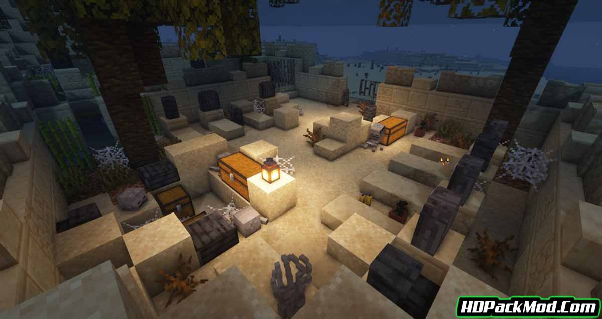 the graveyard mod 4 - The Graveyard Mod 1.17.1 (Structures, Challenging)