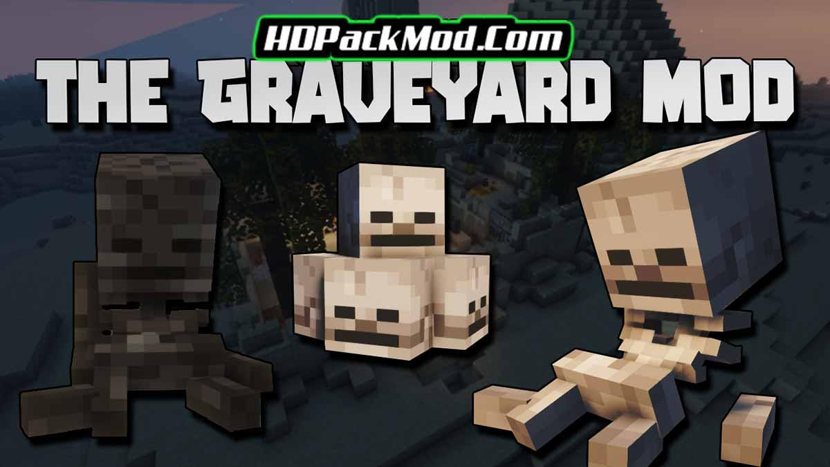 the graveyard mod - The Graveyard Mod 1.17.1 (Structures, Challenging)
