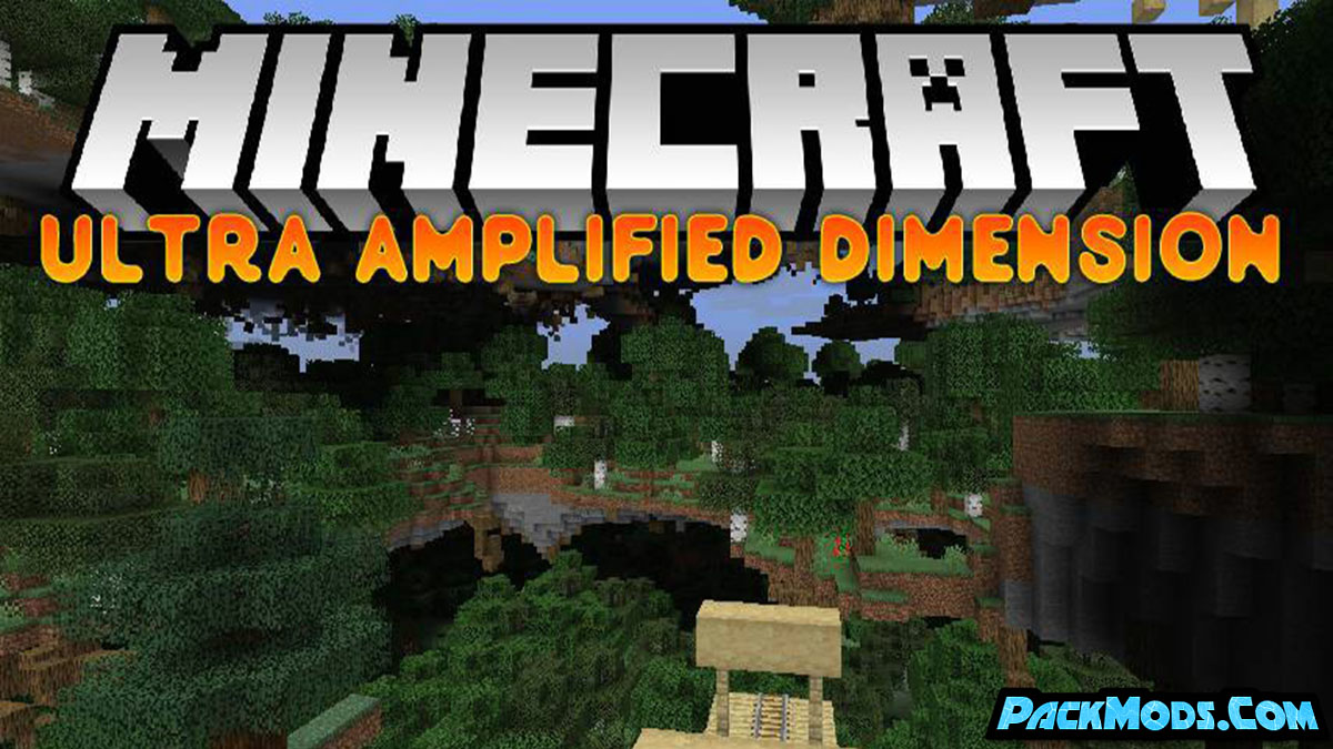ultra amplified dimension mod - Ultra Amplified Dimension Mod 1.17.1/1.16.5 (Crazy Dimension)