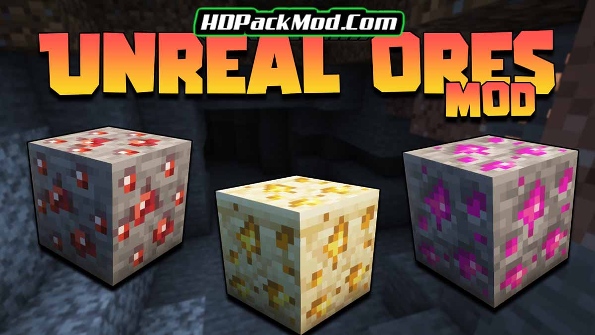 unreal ores mod - Unreal Ores Mod 1.16.5 (Unique Weapons and Armor)