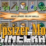 upsizer mod 150x150 - Carrots Library Mod 1.16.5/1.15.2 (The_Wabbits's Mod Library)