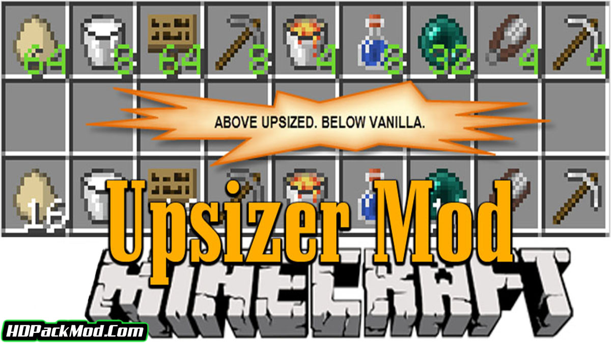 upsizer mod - Upsizer Mod 1.16.5/1.15.2 (Stack for All Items)