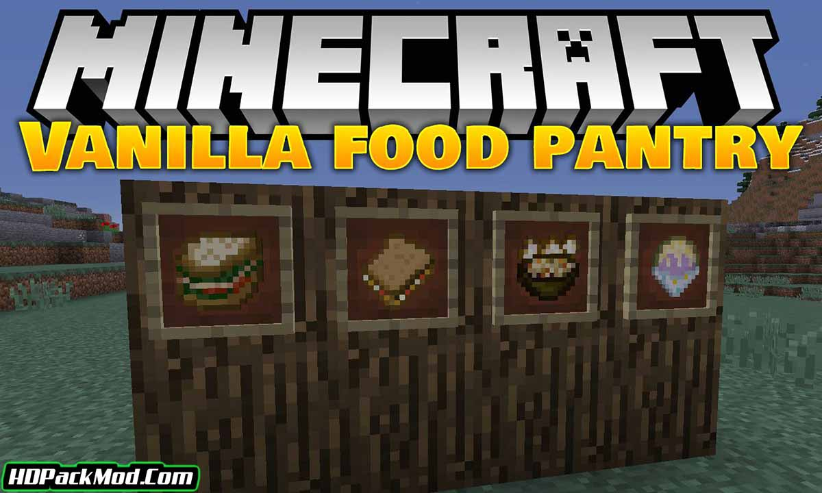 vanillafoodpantry mod - VanillaFoodPantry Mod 1.16.5/1.15.2 (More Food and Recipes)