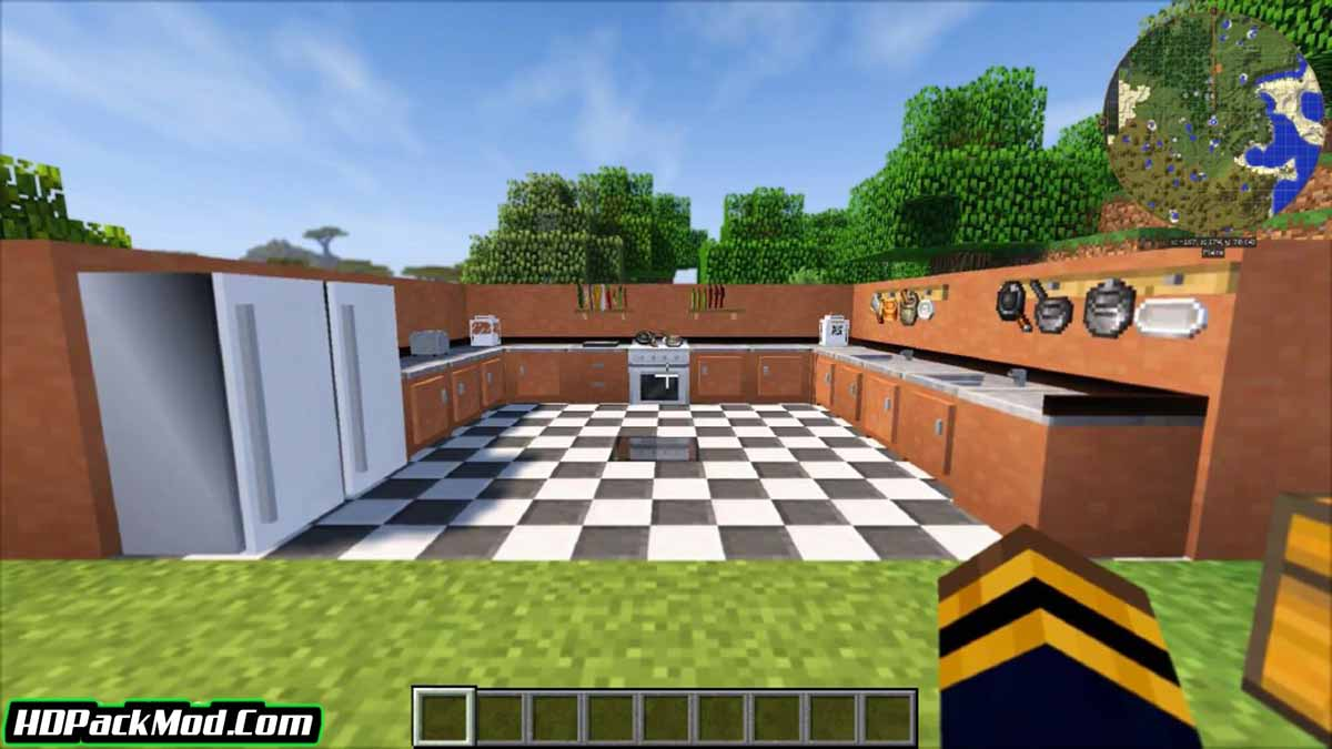 cooking for blockheads mod 4 - Cooking for Blockheads Mod 1.16.5/1.15.2 (Kitchen Set)