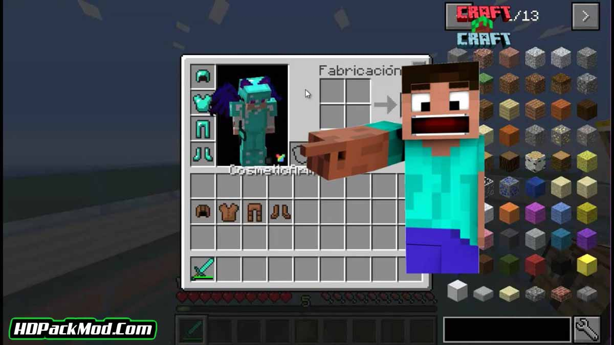 cosmetic armor reworked mod 4 - Cosmetic Armor Reworked Mod 1.17.1/1.16.5
