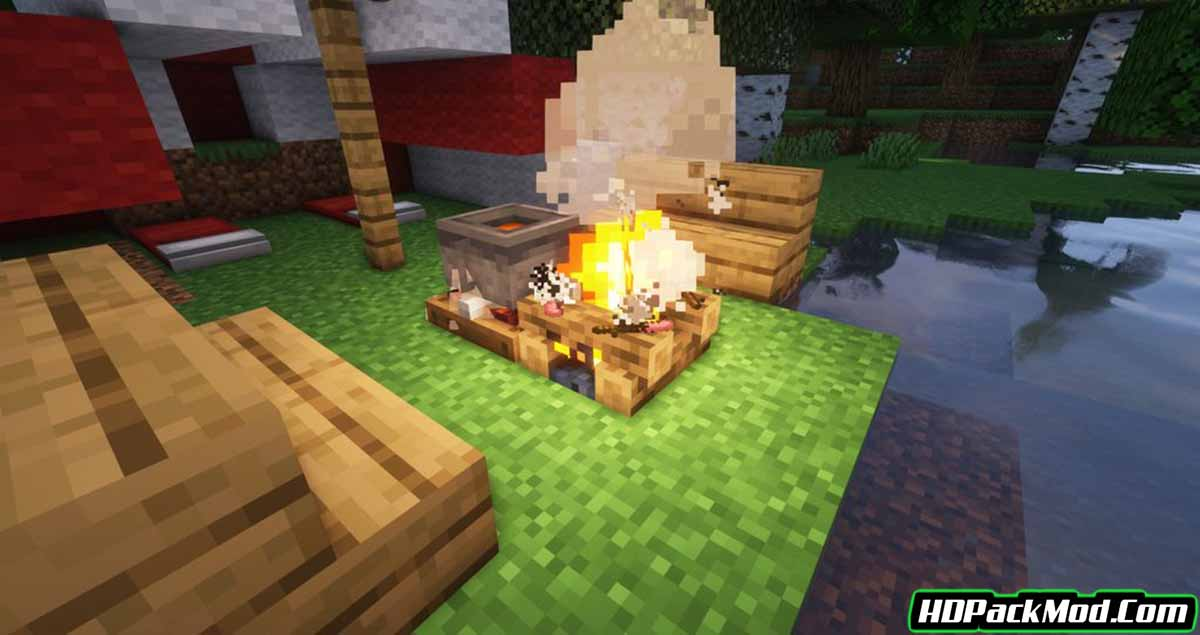 cozy comforts mod 2 - Cozy Comforts Mod 1.16.5 (Furniture, Camping)