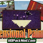 dimensional paintings mod 150x150 - Nutritional Balance Mod 1.17.1/1.16.5 (Eating, Difficulty)