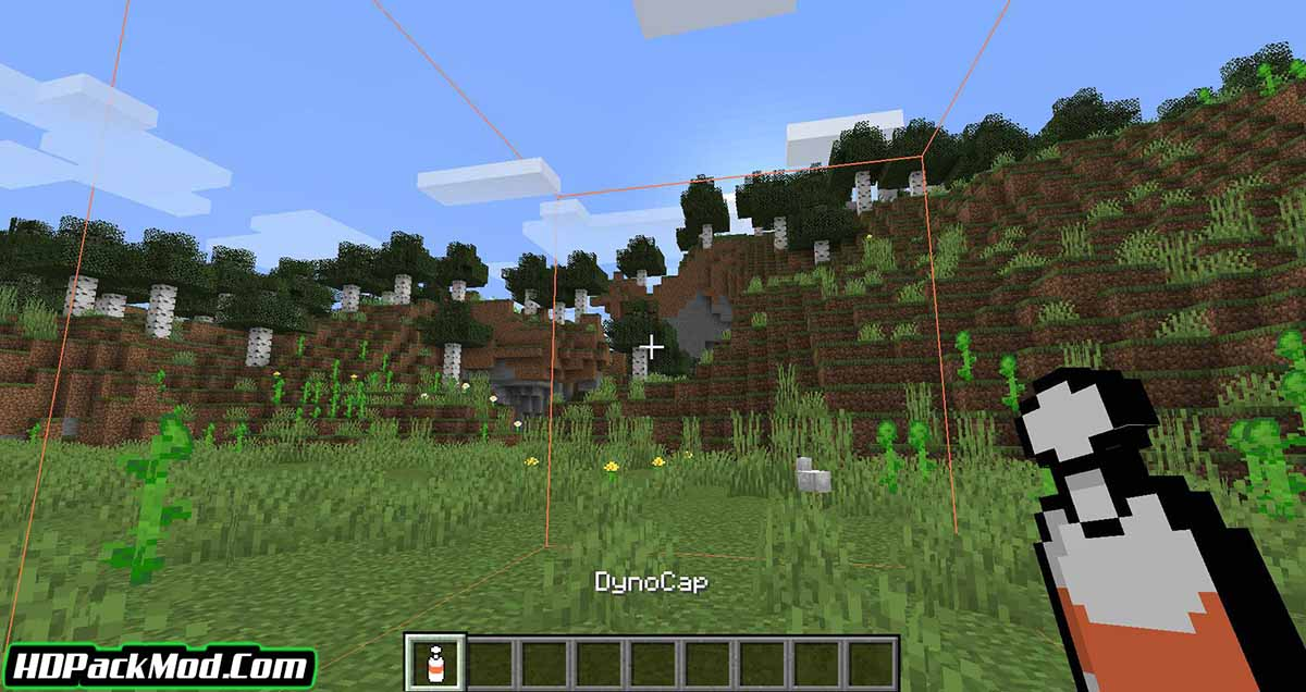 dynocaps mod 2 - Dynocaps Mod 1.17.1/1.16.5 (Carry The House With You)
