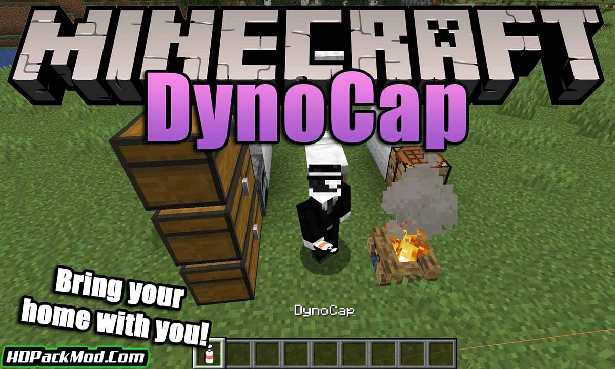 dynocaps mod - Dynocaps Mod 1.17.1/1.16.5 (Carry The House With You)