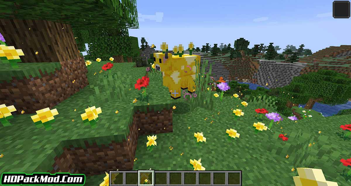 earth mobs mod 3 - Earth Mobs Mod 1.17.1/1.16.5 (Add a Mob from Minecraft Earth)