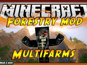 forestry mod 280x210 - Forestry Mod 1.12.2/1.11.2 (Farms, Trees, Bees)