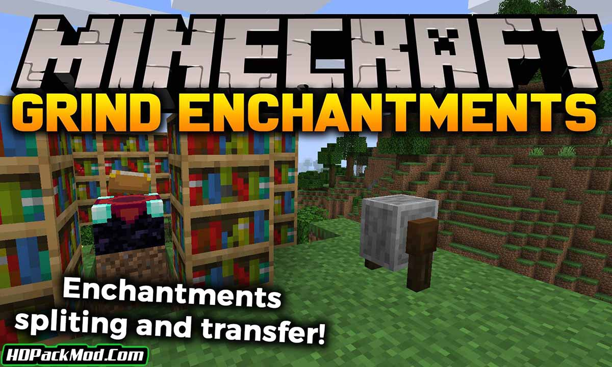 grind enchantments mod - Grind Enchantments Mod 1.18.1/1.17.1 (Passing the Charms)
