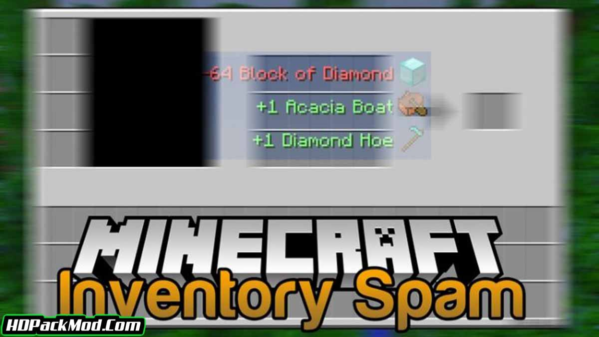 inventory spam mod - Inventory Spam Mod 1.17.1/1.16.5 (See Discarded Items)
