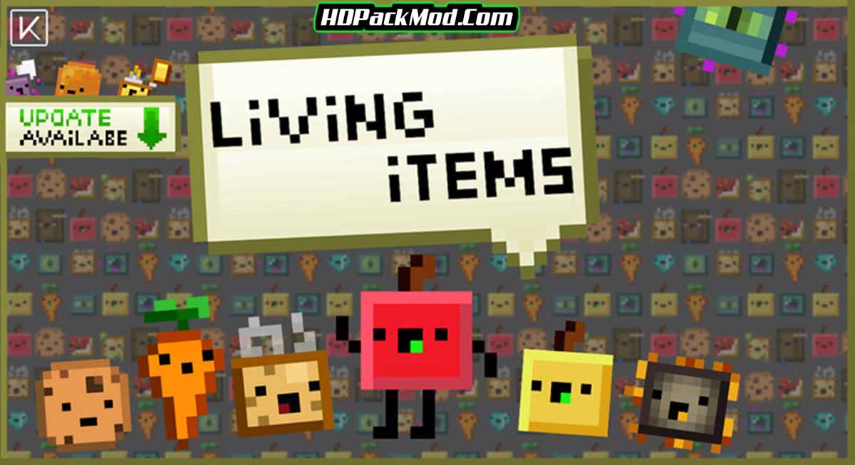 living items resource pack - Living Items 1.16.5 Resource Pack 1.15.2/1.14.4 (16x)