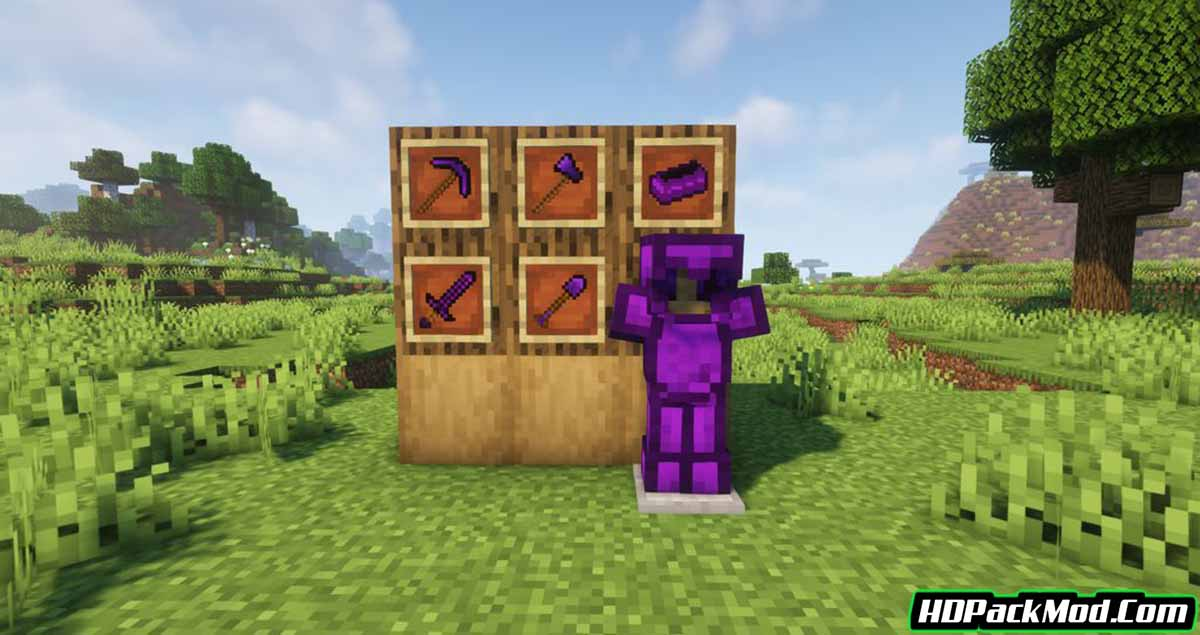 obsidian items mod 2 - Obsidian Items Mod 1.16.5 (Obsidian Armor and Tools)