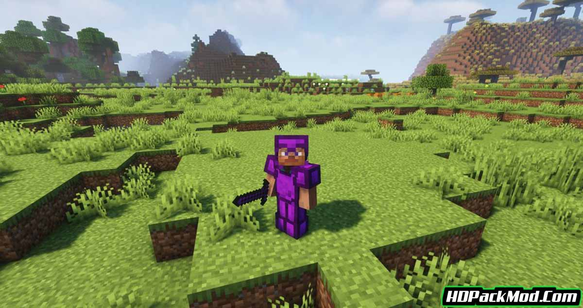 obsidian items mod 4 - Obsidian Items Mod 1.16.5 (Obsidian Armor and Tools)