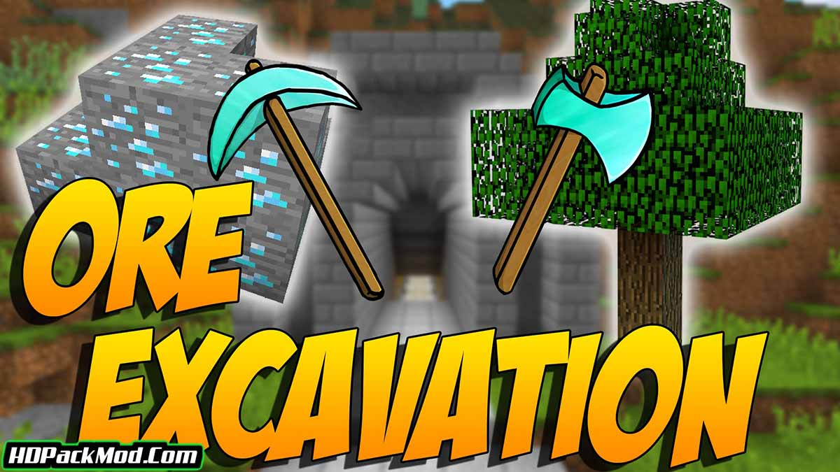 ore excavation mod - Ore Excavation Mod 1.16.5/1.15.2 (Fast Mining of Ores)