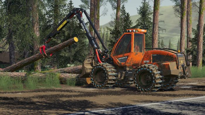 sampo hr46 multitrac and 3p adapter 6 - Sampo HR46 Multitrac And 3P Adapter FS19 Mod