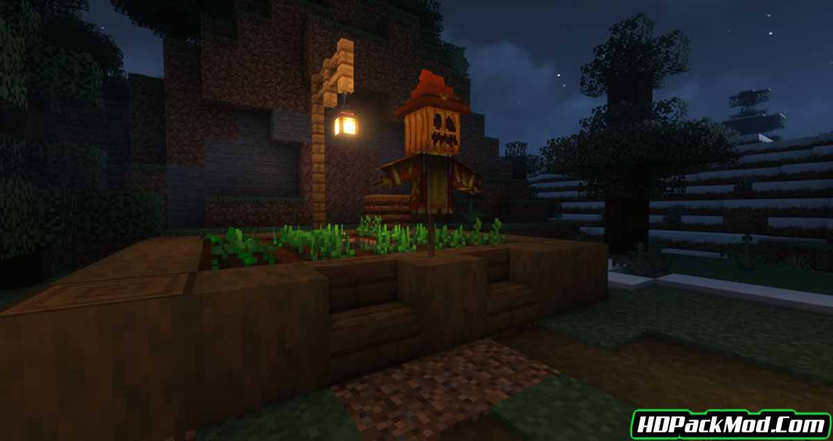 scarecrows territory mod 3 - Scarecrow's Territory Mod 1.17.1/1.16.5 (Crops Protector, Scarecrow)