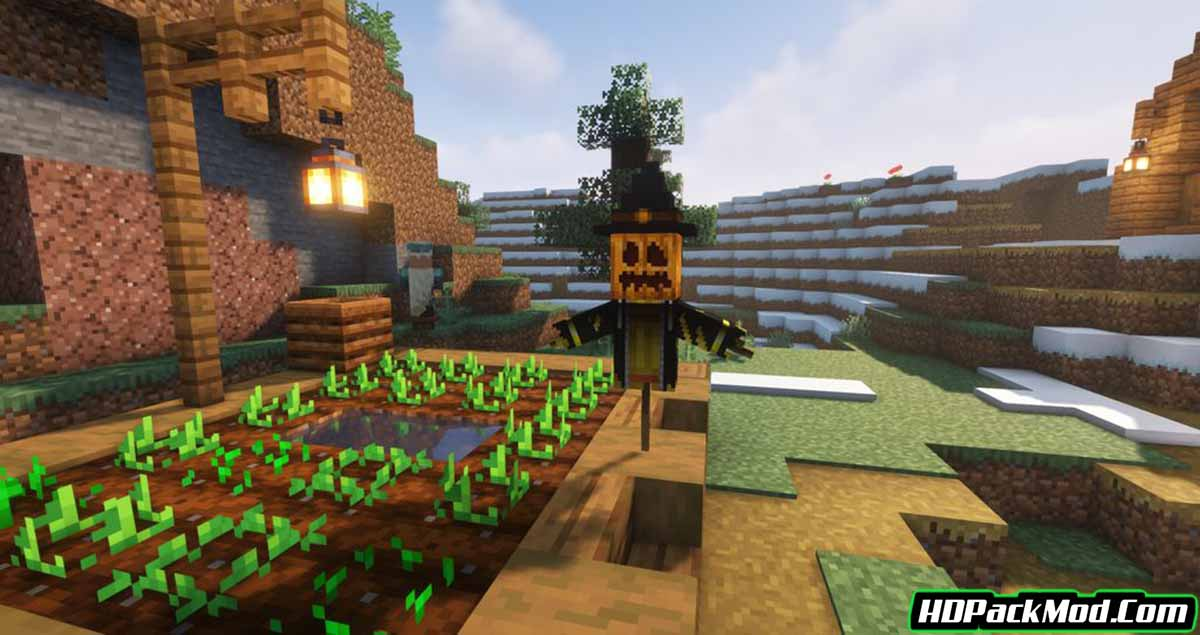 scarecrows territory mod 4 - Scarecrow's Territory Mod 1.17.1/1.16.5 (Crops Protector, Scarecrow)