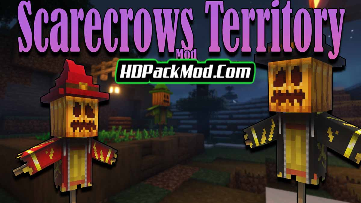 scarecrows territory mod - Scarecrow's Territory Mod 1.17.1/1.16.5 (Crops Protector, Scarecrow)
