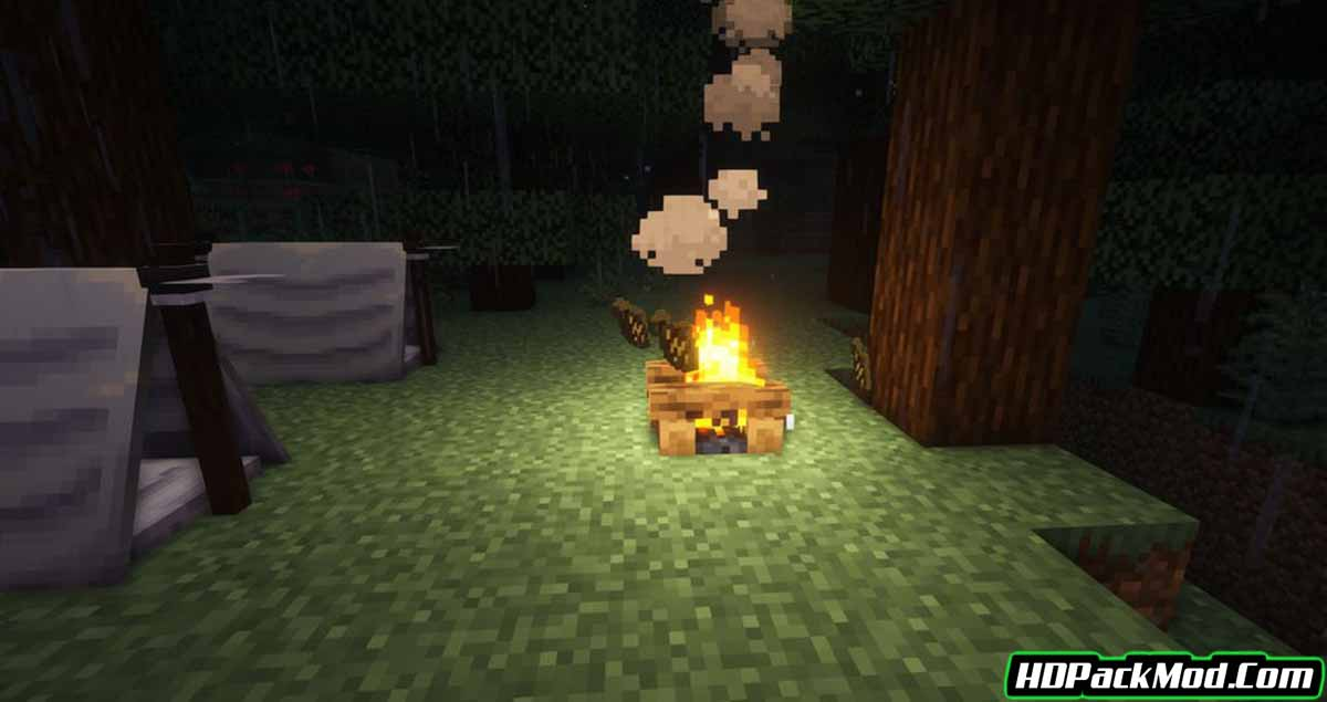 simply camping mod 3 - Simply Camping Mod 1.17.1 (Adventure, Campfire)