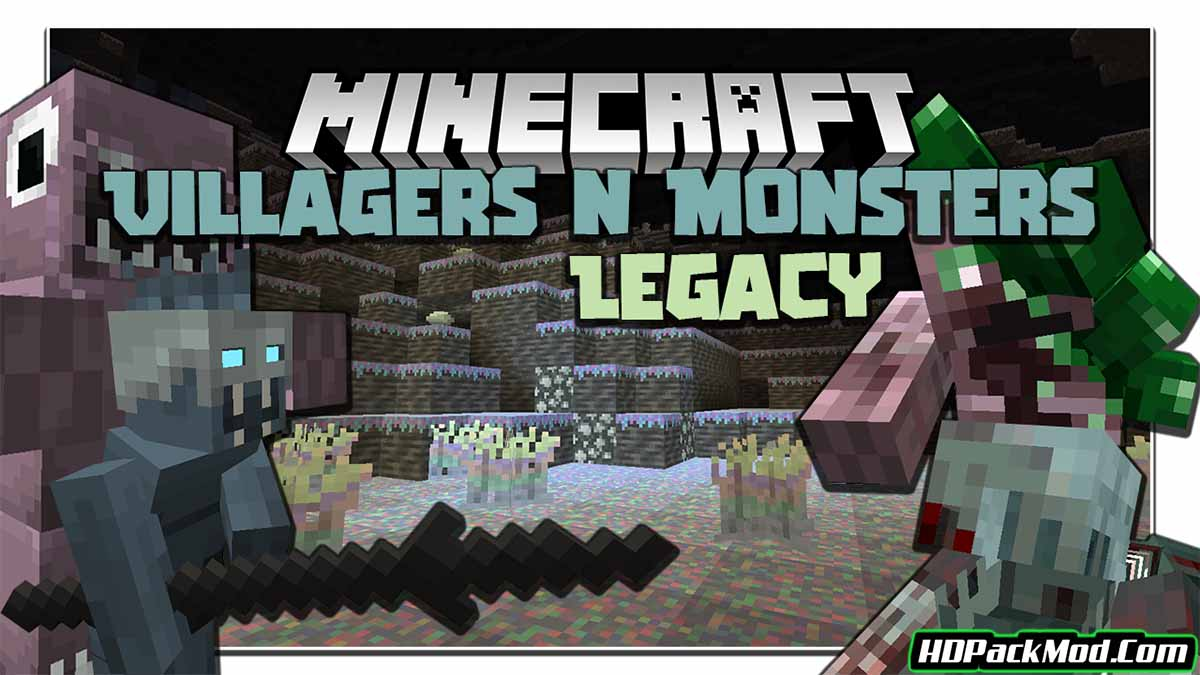 villagers and monsters legacy mod - Villagers and Monsters Legacy Mod 1.16.5 (Horrible Monsters)