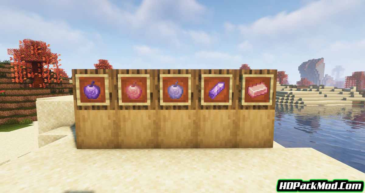 whole lotta apples mod 2 - Whole Lotta Apples Mod 1.16.5 (New Types of Apples)