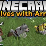 wolves with armor mod 150x150 - Simple Graves Mod 1.17.1 (Item Storage, Afterlife)