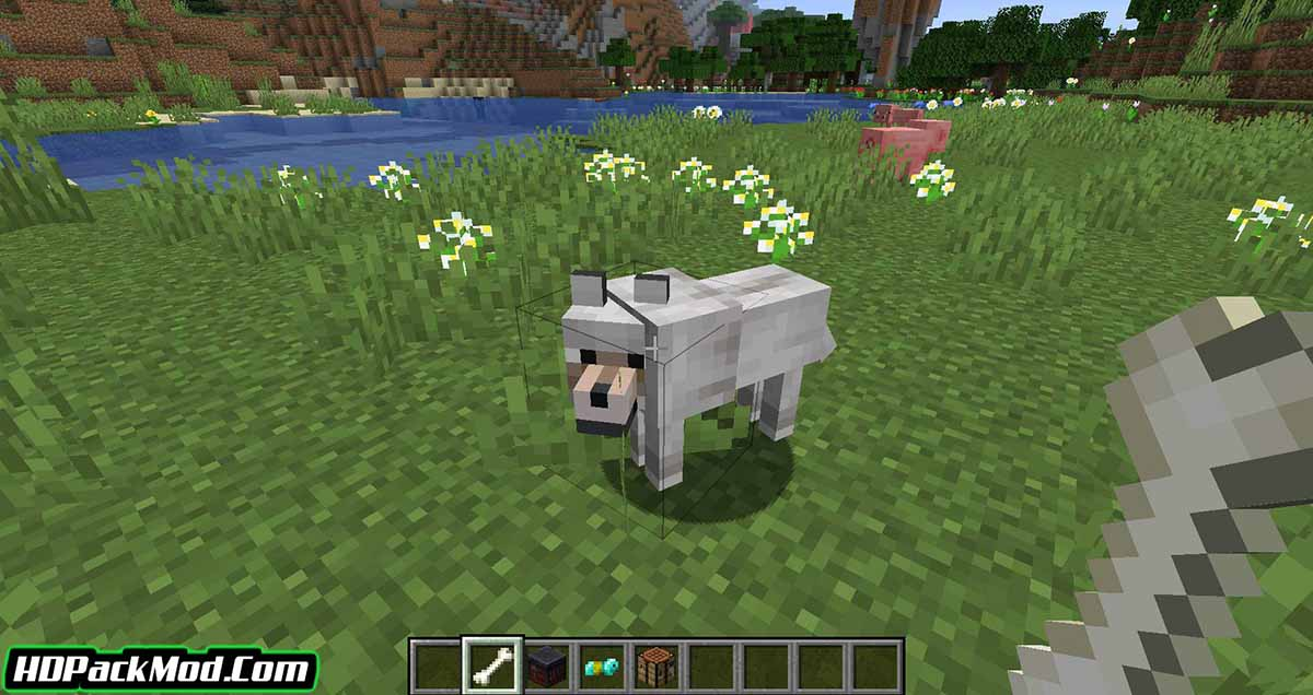 wolves with armor mod 2 - Wolves With Armor Mod 1.17.1/1.16.5 (Armor for Dogs)