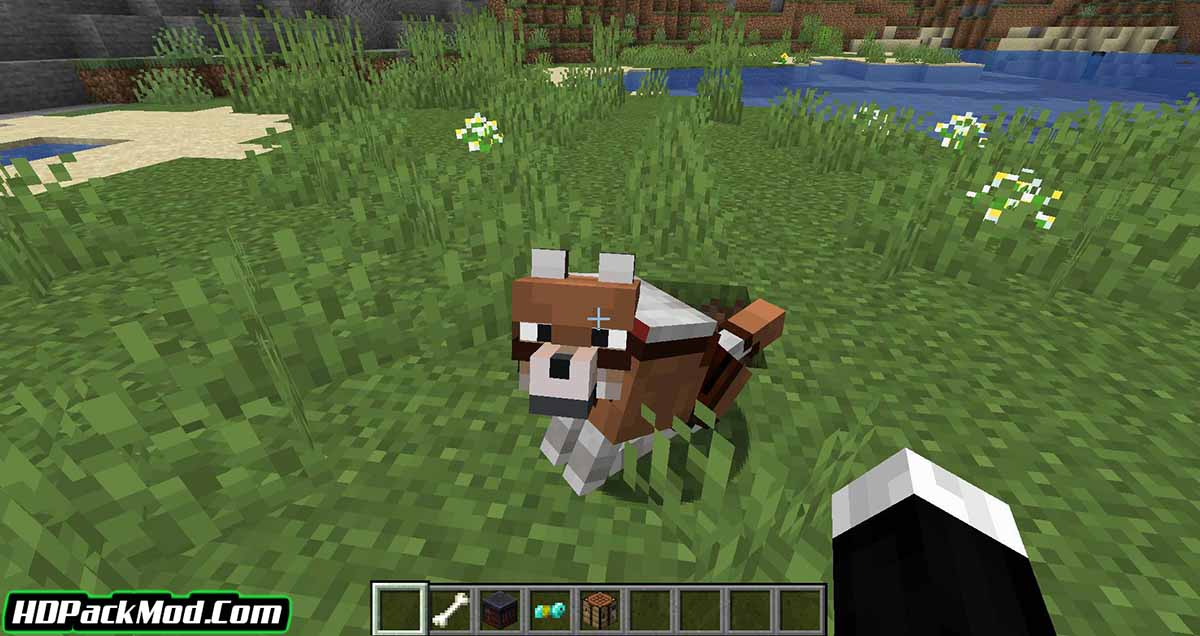 wolves with armor mod 3 - Wolves With Armor Mod 1.17.1/1.16.5 (Armor for Dogs)