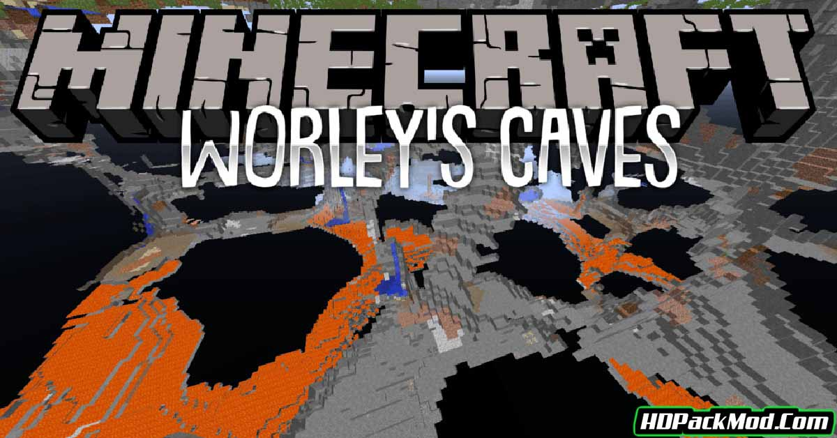 worleys caves mod - Worley's Caves Mod 1.16.1/1.15.2/1.14.4