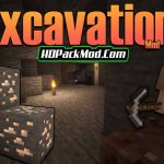 excavation mod 150x150 - Generic Ecosphere Mod 1.17.1/1.16.5 (New Biomes and Plants)