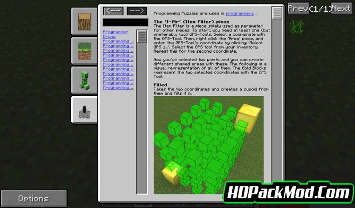 in game wiki mod 2 - In-Game Wiki Mod 1.12.2/1.10.2