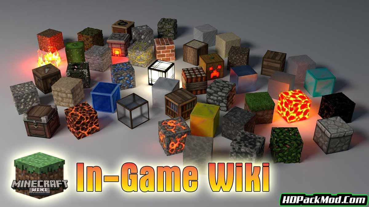 in game wiki mod - In-Game Wiki Mod 1.12.2/1.10.2