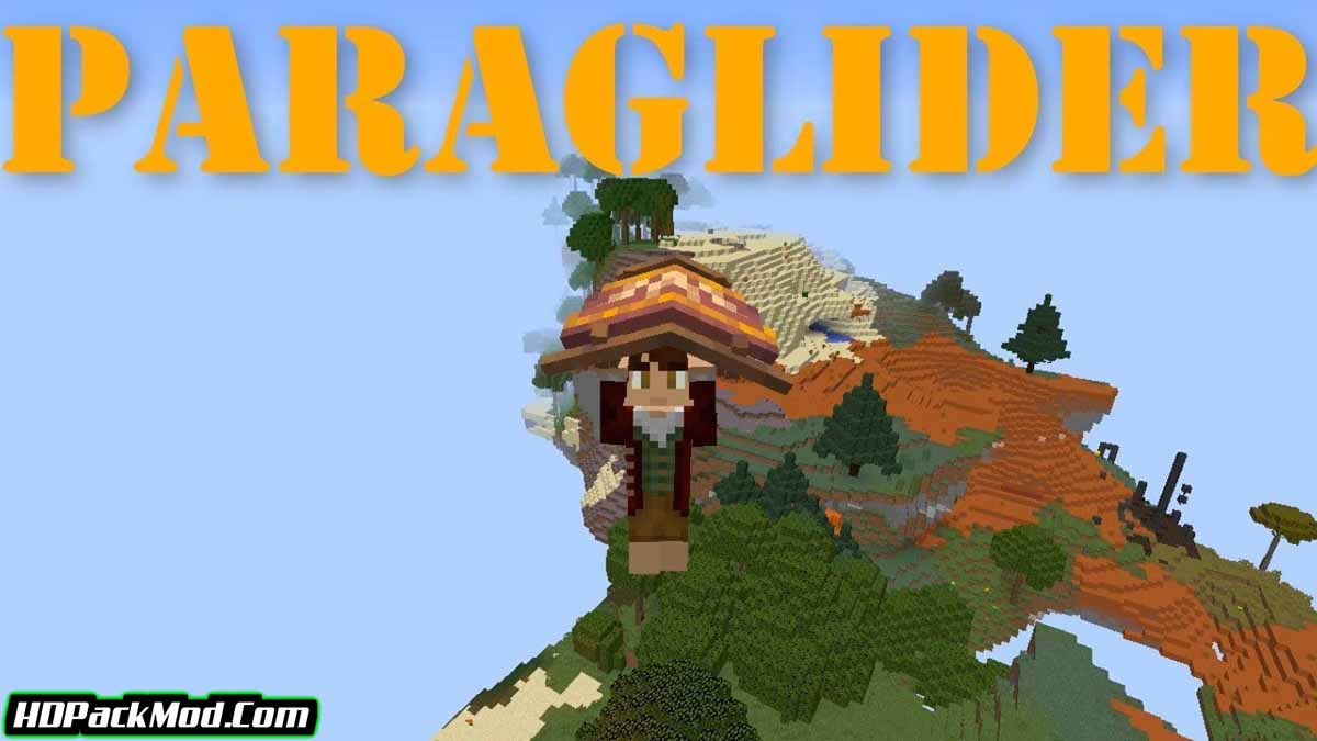 paragliders mod - Paragliders Mod 1.16.5/1.15.2/1.14.4