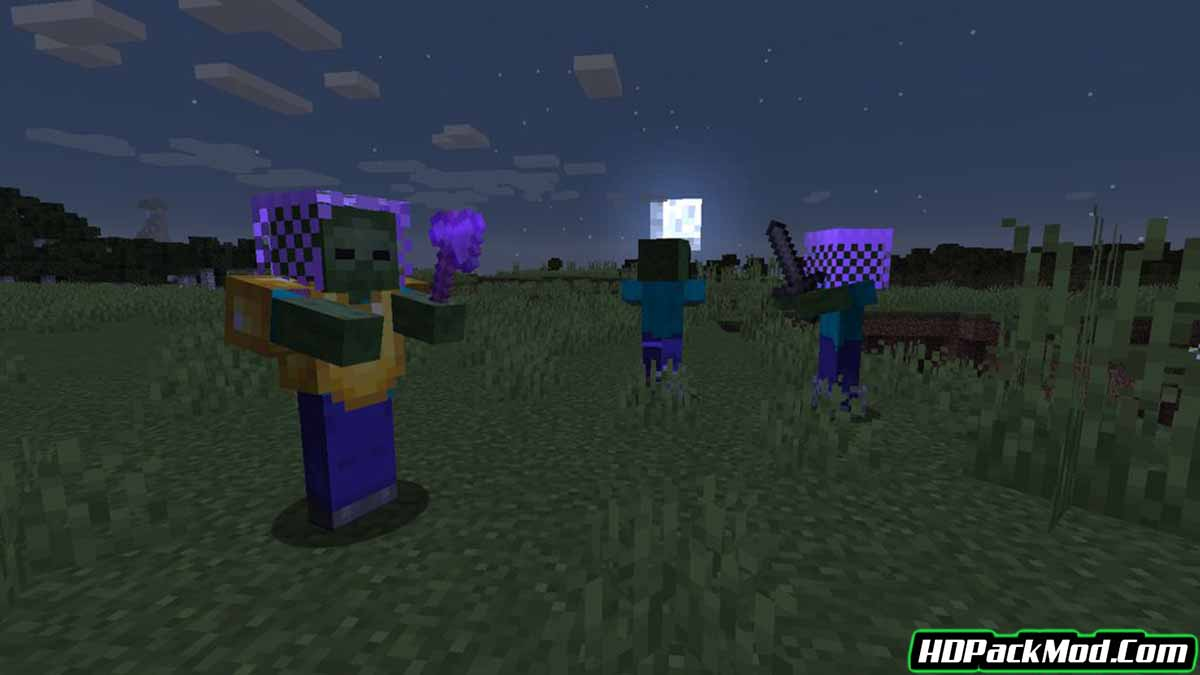 rough mobs revamped mod 2 - Rough Mobs Revamped Mod 1.15.2/1.14.4 (Game Difficulty, Powerful Mobs)