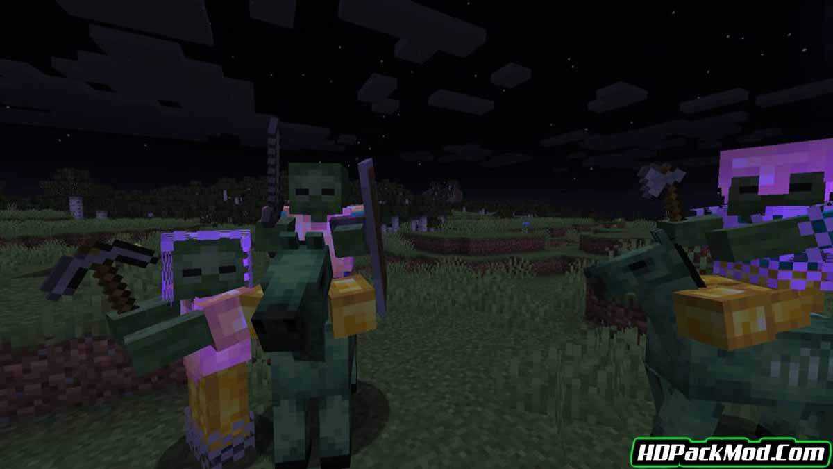 rough mobs revamped mod 3 - Rough Mobs Revamped Mod 1.15.2/1.14.4 (Game Difficulty, Powerful Mobs)