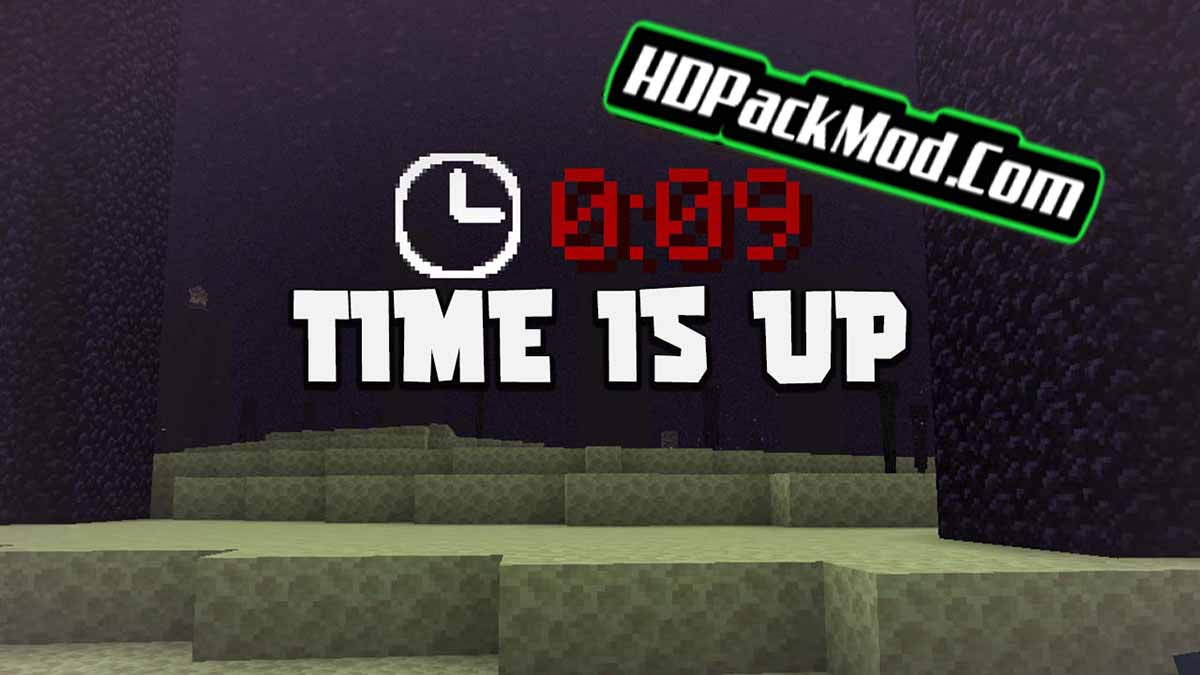 time is up mod - Time Is Up Mod 1.16.5/1.12.2