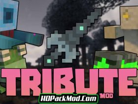 tribute mod 280x210 - Tribute Mod 1.16.5 (Weapons and Tools)