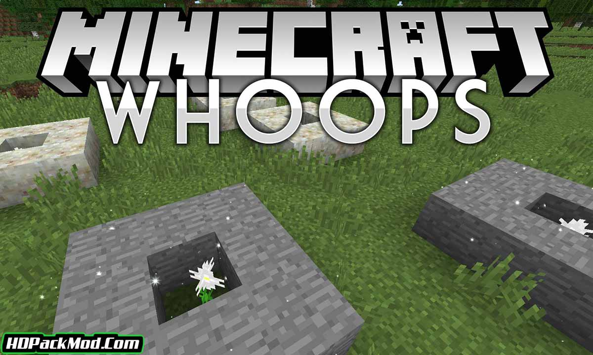 whoops mod - Whoops Mod 1.15.2/1.14.4/1.12.2